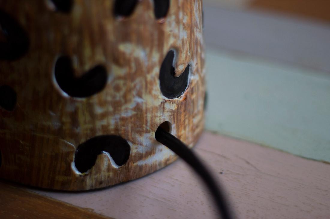 cheetah-vase